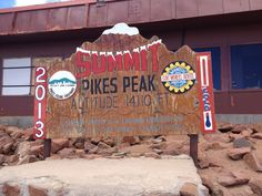 The Pikes Peak Summit House: The doughnuts here are most enjoyable after hiking up to the top - victory's sweetest prize. Also great for watching storms from above.