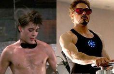 Photo des acteurs Marvel avant et après leurs grands films X-men Avengers Ant-man Gardiens de la galexie etc
