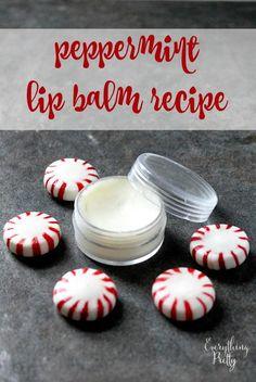 Peppermint Lip Balm   AllFreeChristmasCrafts.com