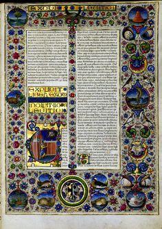 Biblia de Borso de Este — Visor — Biblioteca Digital Mundial Xarresclet