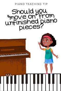 If moving on from unfinished piano pieces makes you uncomfortable (as it used to make me!) in today's post I'm sharing 7 reasons why should not feel guilty about letting go of unfinished piano pieces. Team Building Activities, Music Activities, Teaching Activities, Teaching Resources, Teaching Ideas, Violin Lessons, Music Lessons, Physical Education Games, Health Education