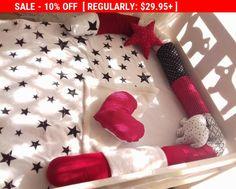 SALE Little snake developmental soft toy, cute bed bumper,baby shower gift idea,baby crib bumper,snake pillow,baby cot bumper,long pillow