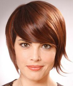 """Super cute """"angel"""" inverted bob with razored ends."""