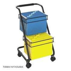Jazz Two-Tier File Cart at SCHOOLSin