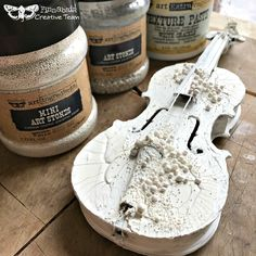 Create collage projects, add a texture element or use them as is! These are stones can be painted, sprayed and more, adhere them with Art Basics Gloss Gel or mix them into pastes to create your own texture pastes!