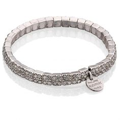 Srebrna bransoletka z kryształkami od Philippe Audibert #mokobelle #mokobellejewellery #jewellery #jewelry #bransoletka #lifestyle #bijou