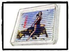 Oggetto Pubblicitario Vintage Posacenere Porgiresto FIORUCCI Vetro Anni '80 | eBay
