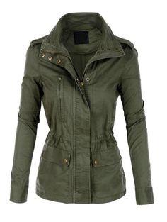 Military Jacket- Plus