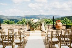 Destination wedding in Italy, Tuscany ceremony