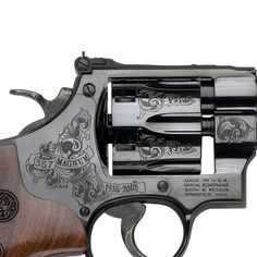 Limited Edition Smith & Wesson 75th Anniversary .357 Magnum Revolver...that is gorgeous!