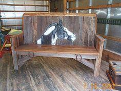 barn wood....bench