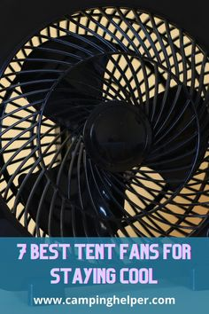 Find a camping fan that is easy to transport and powerful enough to keep you cool in the outdoors. #camping#outdoors#outdoorgear#fans#summer Camping Outdoors, Outdoor Camping, Outdoor Fans, Portable Fan, Cool Tents, Camping Lanterns, Camping Essentials, Stay Cool, Camping