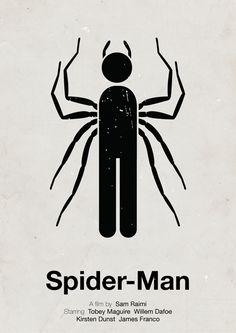 Posters de películas hechos con pictogramas   Más Que Dibujitos
