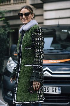 The Olivia Palermo Lookbook : Olivia Palermo At Paris Fashion Week IX