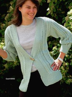 19c79c85e4eb36 Ravelry  Lace Cable Cardigan pattern by Yvette Silverman Knitting Patterns  Free