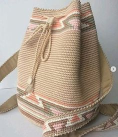 [original_tittle] – Bags and Purses 🛍 [pin_tittle] needlewoman Knitting For Charity, Free Knitting, Crochet Hooks, Knit Crochet, Felted Slippers, Tapestry Crochet, Knitted Headband, Summer Bags, Knitted Bags