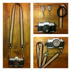 DIY Camera Strap on iamktgrace.blogspot.com