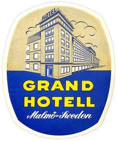 Grand Hotel ~ MALMO SWEDEN.