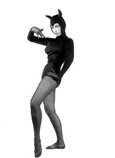 Halloween Betty Page