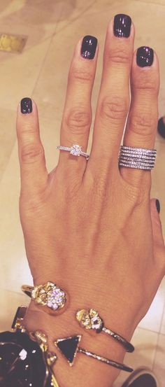 REALLY wanna start collecting these stackable rings for occasions and milestones- meaningful and pretty!