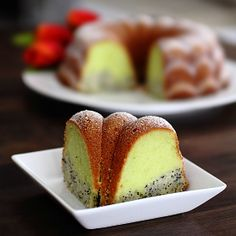 This Poppy Seed  Pandan Butter Cake is one of the best butter cakes I have ever eaten.