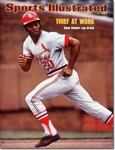 Lou Brock, Baseball, St. Louis Cardinals