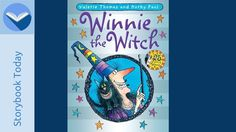 Winnie the Witch lived in a black house with her black cat Wilbur!  Listen to the story and enjoy the beautiful pictures. Picture book, Audio book, Story book.