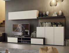 Contemporary Natural Wall Storage System with Cabinets and TV Unit http://www.furnituremind.co.uk/product.php/4927/7/contemporary-natural-wall-storage-system-with-cabinets-and-tv-unit/08080b046fb0067a95d7921d127b4208