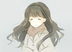 She looks happy ^_^