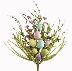 """RAZ Imports Spring Easter 20"""" Easter Egg Spray"""