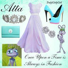 """""""Disney Style: Atta"""" by trulygirlygirl on Polyvore.    No me convencen los zapatos pero el resto si..."""