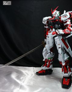 Custom Build: PG 1/60 Gundam Astray Red Frame [Detailed] - Gundam Kits Collection News and Reviews Astray Red Frame, Gundam Astray, Gundam Seed, Gundam Art, Custom Gundam, Gundam Model, Mobile Suit, Fantasy Characters, Character Art