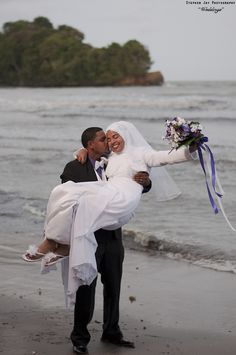 Happily Ever After by Stephen Jay on 500px.  Muslim couple in Tobago,