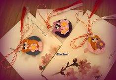 Martisor bufnita Minnie Mouse, Christmas Ornaments, Holiday Decor, Blog, Fimo, Christmas Jewelry, Blogging, Christmas Decorations, Christmas Decor