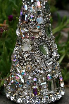 Luminous Vintage Rhinestones Jewelry Crystals by ASoulfulJourney
