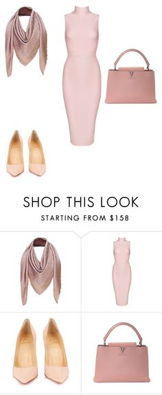 """""""Untitled #277"""" by michelleeli ❤ liked on Polyvore featuring Louis Vuitton, Posh Girl and Christian Louboutin"""