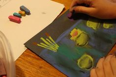 Lily Pad: A Pastels Tutorial from Hodgepodge
