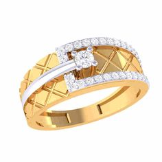 Crop any Rings For Men Online from a huge collection of the best designed and selected item which you will like definitely. Mens Ring Designs, Gold Ring Designs, Engagement Rings For Men, Engagement Ring Sizes, Mens Rings Online, Men Online, Mens Gold Diamond Rings, Couple Ring Design, Gents Ring