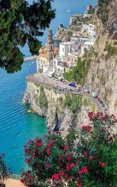 "angel-kiyoss: ""Italy 🇮🇹 "" Places to visit l Travel destination l Tourism Places Around The World, Travel Around The World, Around The Worlds, Beautiful Places To Travel, Wonderful Places, Italy Vacation, Italy Travel, Atrani Italy, Italy Landscape"