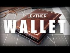 Cómo Hace Billetera de Cuero Básico - YouTube