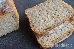 Nieskomplikowany przepis na chleb żytni, lecz tym razem nie razowy – ale jasny, z mąki żytniej chlebowej typ 720. Tostadas, Banana Bread, Food And Drink, Baking, Desserts, Spelt Flour, Bread Recipes, Breads, Strength