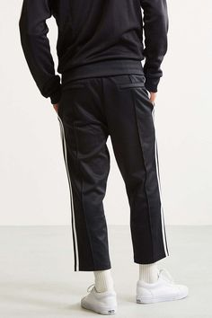 adidas Superstar Relaxed Cropped Track Pant - Urban Outfitters