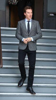 Benedict Cumberbatch...man's  man,  ladies man,  man about town