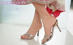 Pakistani & Indian Beautiful High Heel Shoes 2014 for Women
