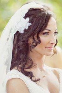 bride wedding hair styles
