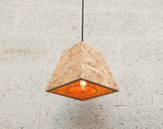This Ceiling lamp shade is handmade from OSB recycled wood with a wire metal frame and metal mesh. Shabby Chic Lamp Shades, Rustic Lamp Shades, Modern Lamp Shades, Ceiling Lamp Shades, Table Lamp Shades, Osb Wood, Pink Lamp Shade, Pleated Lamp Shades, Diy Lampe