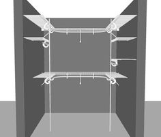 closetmaid walk in closet designs | ... Walk in wardrobe packages, clothes storage solutions & design ideas