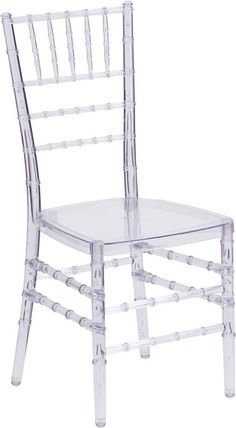Clear Chiavari Chair WL-00094-FF