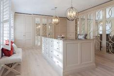 White Luxury Wardrobe Fitted In Holland Park In London From The Heritage Wardrobe Company Fitted Wardrobe Design, Wardrobe Door Designs, Closet Designs, Luxury Wardrobe, Mirrored Wardrobe, Luxury Closet, Wardrobes Uk, Fitted Wardrobes, Bespoke Wardrobes