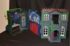 Batman Forever Batcave ~ Wayne Manor Mansion ~ Playset 1995 Kenner  #Kenner